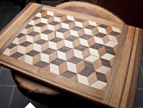 Cutting Board With 3D Pattern
