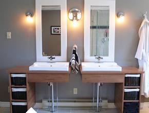 Custom Floating Bathroom Vanities