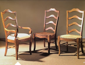 French Ladderback Dining Chairs