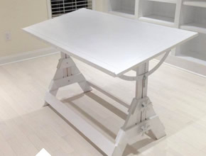 Painted Maple Drafting Desk