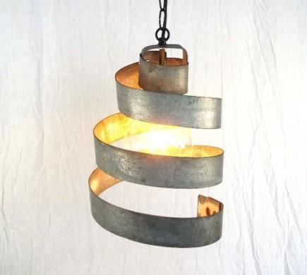 Wine Barrel Ring Pendant Light